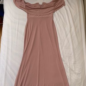 Forever 21 nude pink dress
